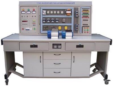 三相四线电源输入,通过漏电保护器接通总开关