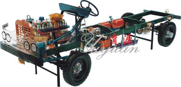 6比例制造,附汽车电路 25  小四轮拖拉机透明整车模型 台 按实物1:0.