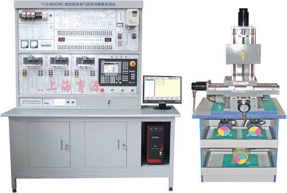 实训台,具有数控车床的安装调试,参数设置,pmc编程,故障诊断与维修