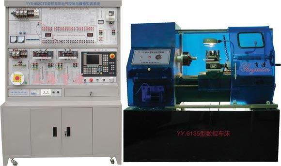 802ctd数控车床电气控制与维修实训系统