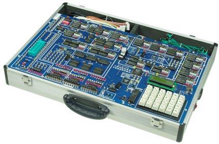 组合逻辑控制单元,三总线接口,40芯锁紧扩展座,二进制开关电平输出